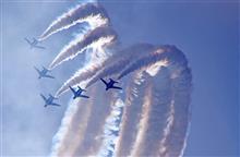 初めての航空祭。
