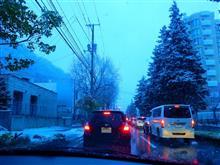 128年ぶりに遅い初雪