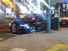 四銀 AUDI A6 タクシーが走る街