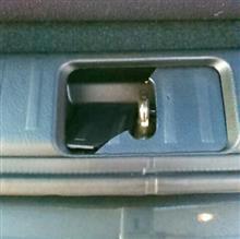 バックドア ストライカーバー カバー破損