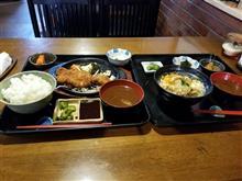 黄昏時の松阪にてガッツリとカツ丼と味噌カツ定食を愉しむ