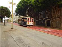 サンフランシスコは急坂の町。