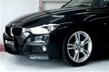 BMW 320d プロセッサーアンプを取り付けして臨場感が大幅にアップです。