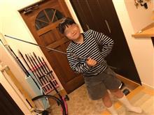 らす子の竿買った。