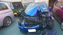 昨年の事故の後始末