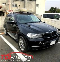 【BMW X5(E70) LDA-ZW30S ディーゼルサブコンTDI Tuning】インプレ頂きました。