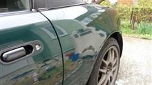 ロードスターリヤフェンダーの塗装と国際免許の取得