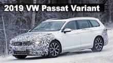 New 2019 VW Passat Variant (Wagon) Undergoing Winter Testing