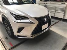 マイナーチェンジ後 LEXUS NX F-SPORTフロントリップ移植 【レクサス】