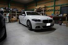 BMW F11 5シリーズツーリングのスピーカー交換