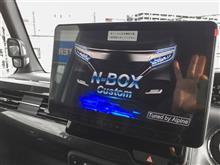 高級!?軽ハイトワゴン「N-BOXカスタム」にあの11型大画面ナビを装着!!