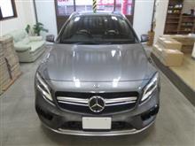 メルセデス・ベンツ Mercedes-AMG GLAクラス(X156)GLA45 4マチック、採寸&装着確認(完成)