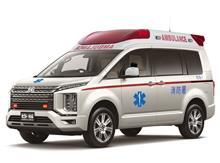 新型 ミツビシ デリカ D:5 救急車 ( Mitsubishi Delica D:5 Ambulance ) !? ・・・・