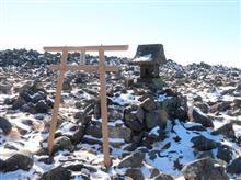 2018年12月2日 八ヶ岳連峰の蓼科山を山歩き