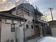 やっと台風21号被害の修繕