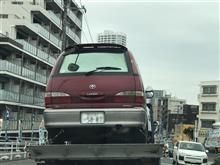 車載車上のクルマが・・・。