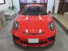 ポルシェ 911(991)911GT3 後期型、採寸&装着確認(完成)