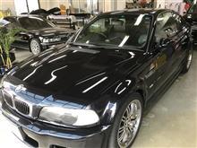 BMW3シリーズ コーティング