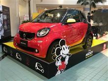 smartミッキーカーを見てきました。