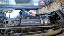 N子。。。エンジンオイル交換。。。シングルハートさん。。。