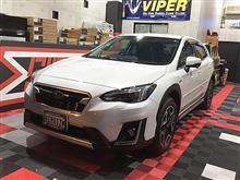 スバルXVにエンスタ付VIPERで安心と快適を・・