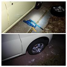 タイヤ交換とラジエーター交換終了。