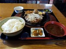 松阪にて朝からガッツリとジャンボチーズハンバーグ定食を愉しむ