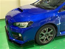 本日のソニックプラスセンター新潟 スバル WRX STI に ワイドレンジドライバー・モジュールのお取り付け