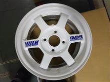 今日のホイール RAYS Volk Racing TE37(レイズ ボルクレーシング TE37) -スズキ アルト用-