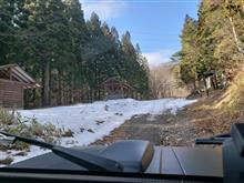 2018冬の秋鹿大影林道