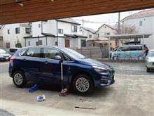 BMW218dのタイヤローテーション