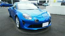 今話題のフレンチスポーツカーを見てきました。(^_^)
