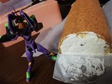 今年もロールケーキがやって来た