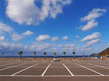 和歌山県日高町産湯(産湯海水浴場駐車場)