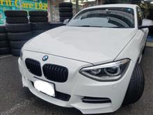 BMW:F20にパフォーマンス純正をお取り付け! FIT都筑店です(*'▽')