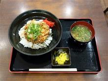 阪和道下り紀ノ川SA 海鮮かき揚げ丼650円