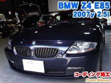BMW Z4ロードスター(E85) コーディング施工