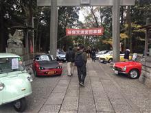 2018年の谷母天満宮 旧車祭で見た車 その1