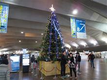 クリスマスイブの大桟橋 #横浜大桟橋国際客船ターミナル #大桟橋 #ぱしふぃっくびいなす #飛鳥II