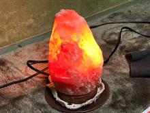 岩塩ランプ