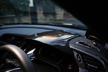 ホンダ シビック用ドライカーボン製メーターフード予約販売開始!