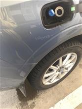 XC60 給油口が詰まった (; ;)