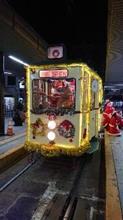 クリスマス電車を見ました