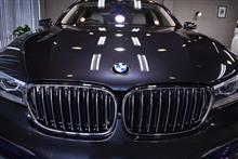 洗練された輝き BMW 740iのガラスコーティング【リボルト千葉】