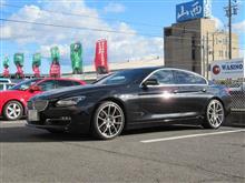 メンテナンスは大事...BMW F06 エンジンオイル交換 ワコーズ 4CT-S
