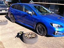 タイヤ交換と洗車