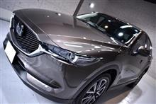 大人気SUV マツダ・CX-5のガラスコーティング【リボルト姫路】