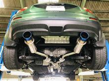 NF15 JUKE 16GT 『EGOIST RS』取付作業(^^♪