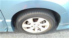 タイヤのエア圧・・・放置しまくり【セレナ】