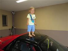 今年の息子と車!